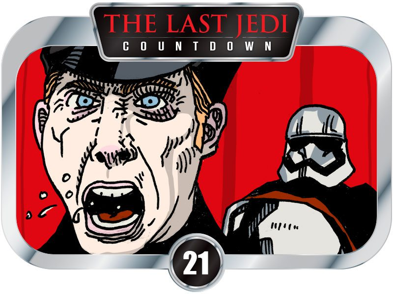 21 Days to SW EP8 – At The First Order Rally…