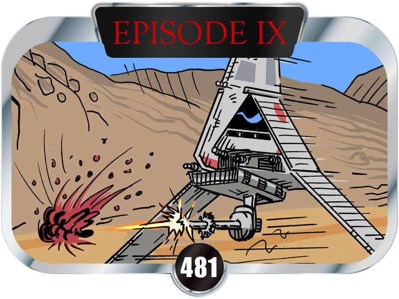 481 Days to SW EP9 – A Real Conversation Between Two Sandtroopers Stationed on Tatooine
